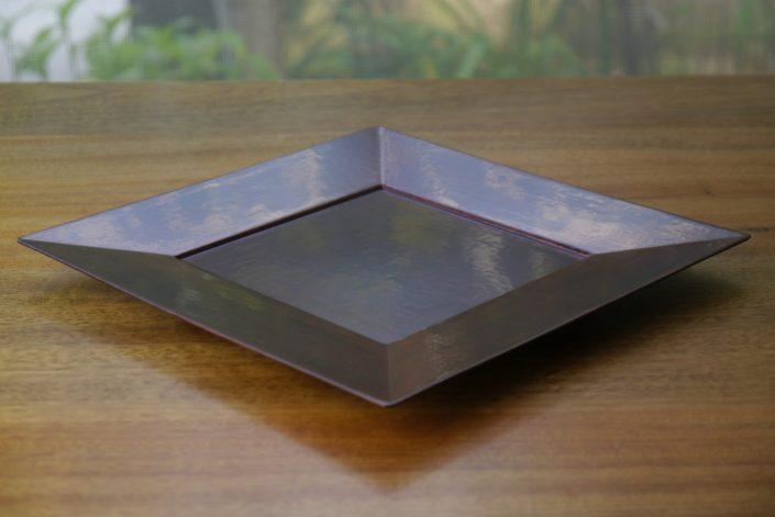1010 西洋角皿 7寸 21.0×21.0×1.5