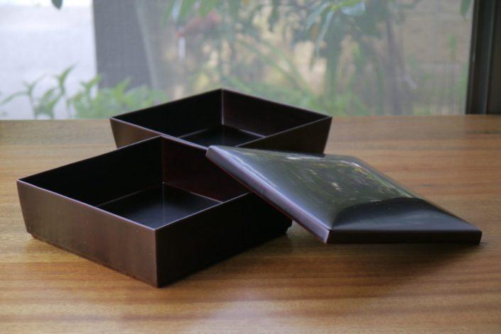 1019 正方重ね箱(小) 17.4×17.4×10.0