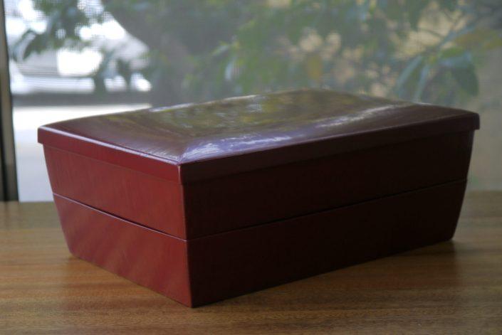 1020 長方重ね箱(大)26.4×19.8×10.3