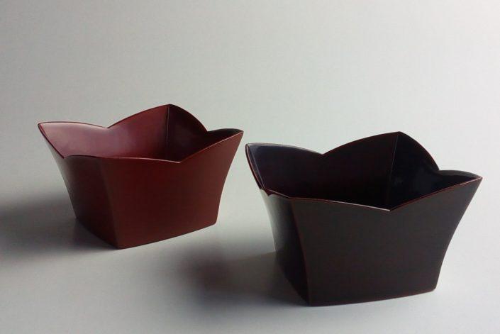 1049 胴張正方小鉢 10.5×10.5×6.0