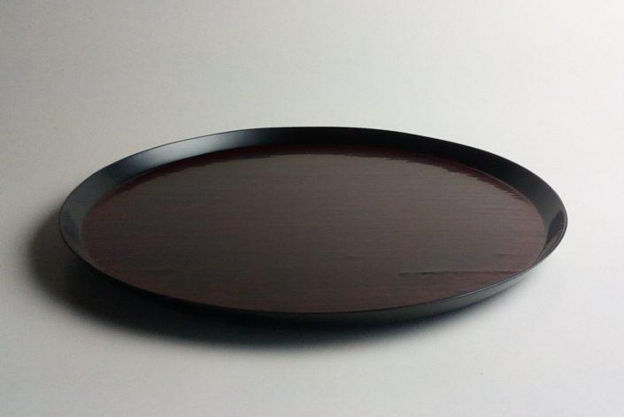 1053 布目丸折敷尺1 Ø33.3×2.2