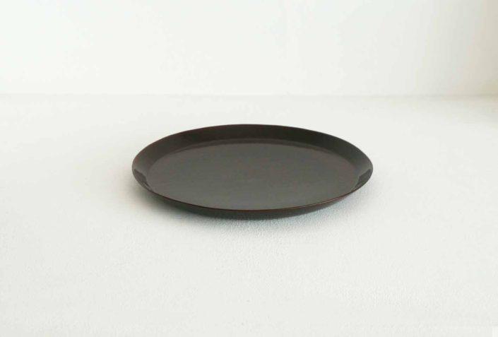 44 丸底皿 8寸 φ24.5×2